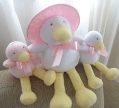 Mamãe Pata e seus filhotes