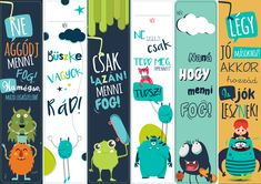 Diy For Kids, Crafts For Kids, Creative Bookmarks, Kids Gym, Papel Scrapbook, Stay Young, Printable Labels, Filofax, Handicraft