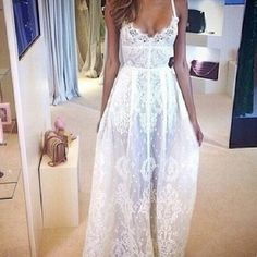 would love this as my wedding dress!