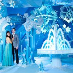 Frozen Prom Theme