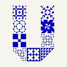azuleijo portuguese tiles letterform typography