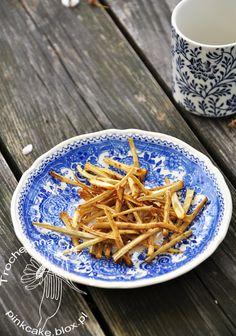 Frytki z łopianu, Burdock chips