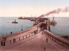 Admiralty Pier, Dover, England, between 1890 and 1900