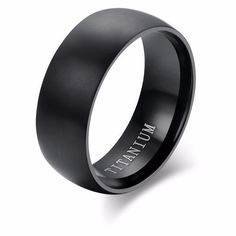 Men's Black Titanium Ring 3In1 Titanium Stainless Steel Rotatable Week calendar Date Ring #titanium #rings #ringsofinstagram #ringssilver #blackrings #ringsoftheday #men #mensfashion #menstyle #mensring #helounge