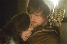 Robin Hood and Maid Marian from the BBC show. <3