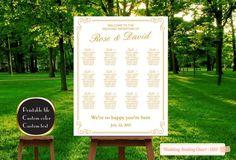 PRINTABLE Large Wedding Seating Chart by PrinceDigitalPhoto