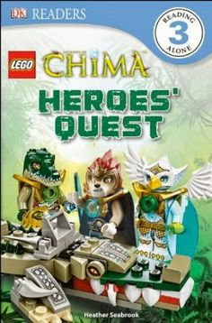 LEGO Legends of Chima: Heroes' Quest, by Heather Seabrook, JER SEABROOK