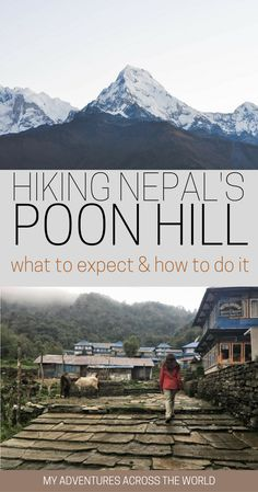 Hiking Nepal's Poon Hill: all you need to know to organize the Poon Hill trekking in Nepal, which will bring you through villages, brethtaking viewpoints, and some of the most beautiful mountains in the world. If you're looking for amazing views of the Annapurna, there's no better trekking in Nepal! | Poon Hill trek | Poon Hill Nepal sunrises | Nepal trekking | Nepal travel tips #PoonHill #nepaltrekking #Nepal - via @clautavani