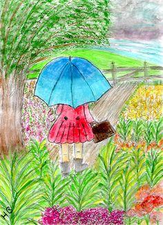Little Umbrella Girl    made me think of u