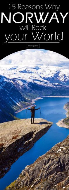 15 reasons why Norway will Rock your World. #norway #travel