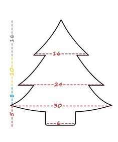 μαξιλαρι χριστουγεννιατικο δεντρο, ραψτε εορταστικα μαξιλαρια Christmas Crafts, Xmas, Christmas Trees, Color By Numbers, Chart, Coloring, Blanket, Happy, Make Christmas Decorations