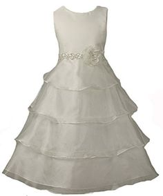 Girls KID Collection New Organza Tiered Flower Girl Dress Kid Collection, http://www.amazon.com/dp/B008NB45KE/ref=cm_sw_r_pi_dp_ZI2arb17SGSFG