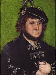 Lucas Cranach the Elder - Portrait of Johann the Steadfast, Elector of Saxony. In 1526, Sybille of Cleves, Anne of Cleves older sister, married Johann's eldest son, John Frederich. Johann the Steadfast ruled for another 6 years, and on his death, John Frederick became the Elector. The Electors of Saxony were followers and deeply committed to Lutheranism, Sybille converted to this faith when she married. Her father John III of Cleves was originally against the match, but relented.