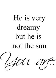 Christina Yang's best quote ever. Grey's Anatomy. He is not the sun you are.