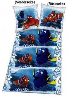 Wolimbo Bettwäsche mit Namen für Kinder Motiv Käferchen 100x135cm 40x60cm