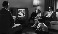 Family interactions revolve around television. Television has been in people's everyday lives since it has become a staple in people's homes. While television has been connected to families'. Life Is Like, What Is Life About, Real Life, Life In The 1950s, Elite Game, Three Blind Mice, Leave It To Beaver, Father Knows Best, Movie Scripts