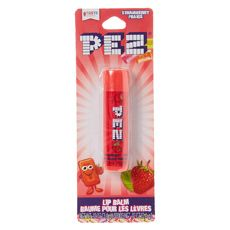 Pez Strawberry Lip Balm