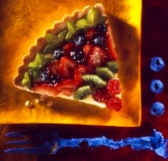 Fruit Pie - food photography by Rick Meoli
