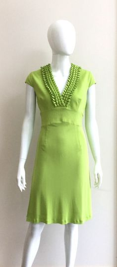 Refresh your wardrobe with these gorgeous new arrivals! Short Sleeve Dresses, Dresses With Sleeves, Karen Millen, Evening Dresses, Lime, High Neck Dress, Collection, Fashion, Evening Gowns Dresses