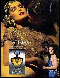 Guerlain Shalimar Perfume Pretty Woman Photo (1982)