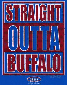 Too Cute or Toddler Tee Onesie Smack Apparel Buffalo Bills Fans 2T-4T NB-18M