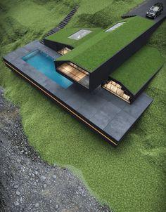 Villa Design, Rustic Exterior, Exterior Design, Interior And Exterior, Dream Home Design, Modern House Design, Modern Architecture House, Architecture Design, Amazing Architecture