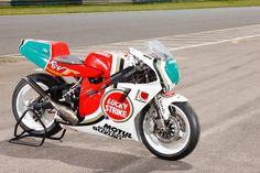 Suzuki RGV-Γ 250 Tweetakt race motor