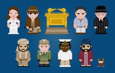Indiana Jones and Raiders of the Lost Ark - Digital PDF Cross Stitch Pattern    This is a digital PDF file of a cross stitch pattern. You will