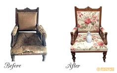 Mel's chair. Here's the finished product! Catch the full step by step restoration at http://renownedfurniture.com.au/restoration/a-picture-story #renownedfurniture #restoration
