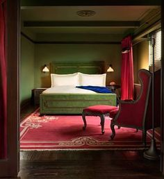 Hotels of the Rich and Famous : Gramercy Park Hotel - New York, New ...