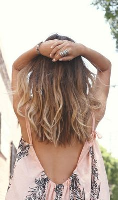 Ombré hair styles for medium hair Boho Hairstyles, Pretty Hairstyles, Everyday Hairstyles, Hairstyles Haircuts, Cabelo Ombre Hair, Medium Hair Styles, Short Hair Styles, Medium Length Hair Cuts With Layers, Hair Cuts Shoulder Length Face Shapes