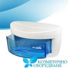 Качествен UV стерилизатор за козметични и фризьорски инструменти 1002А Качествен модел uv стерилизатор, който предлага изключително ефикасно действие при дезинфекция и хигиенизиране на козметични, фризьорски и др. Инструменти и принадлежности, необходими за работата ви.