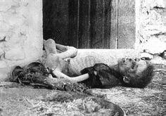 Armenian child in 1915.