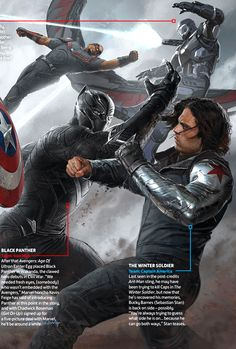 Captain America Civil War Concept Art - Ryan Meinerding & Andy Park