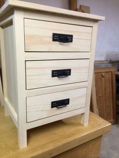 Custom Nightstand by Billy {Pre-Stain}