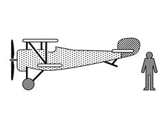 Nieuport 17 lateral - Tactile Images Encyclopedia Visual Learning, Learning Disabilities, Mobile App, Army, Graphics, Vehicles, Image, Gi Joe, Military