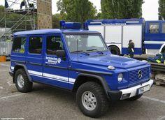 Mercedes Benz G, Führungsfahrzeug des Technischen Hilfswerkes (THW)