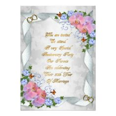 50th wedding anniversary greeting card wedding anniversary 50th anniversary invitation for parents m4hsunfo