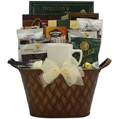 GreatArrivals Gift Baskets Coffee Connoisseur: Gourmet Coffee Gift Basket