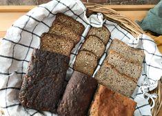 Žitný chléb s celým zrnem pro Herbář – Maškrtnica Banana Bread, Desserts, Food, Tailgate Desserts, Deserts, Essen, Postres, Meals, Dessert