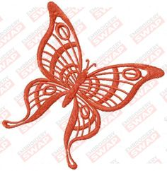 Brown butterfly Machine Embroidery Design File Embroidery Files, Machine Embroidery Designs, Butterfly Embroidery, Design Files, Brown, Chocolates, Brown Colors