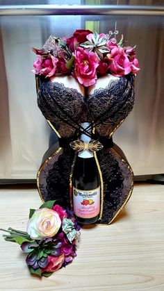Money Bouquet, Corset, Perfume Bottles, Bows, Shapes, Lady, Gifts, Beauty, Decor