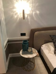 #casadecor2017 #fimes #madrid  #design #interiordesign #madeinitaly #nightstand #vanity #bed #bedroom #marble #brass #gold #leather #wood #miguelmuñoz