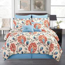 Corriner 8 Piece Comforter Set