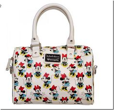 Disney Discovery- Loungefly Minnie Mouse Duffle Bag