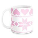 Miss Maker Market Melbourne | Maker Feature - Summer & Skye Homewares - cool mugs - snowflakes - pink love hearts
