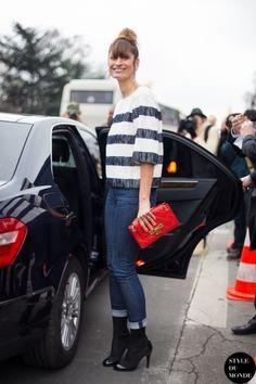 STYLE DU MONDE / Haute Couture SS 2014 Street Style: Caroline de Maigret  // #Fashion, #FashionBlog, #FashionBlogger, #Ootd, #OutfitOfTheDay, #StreetStyle, #Style