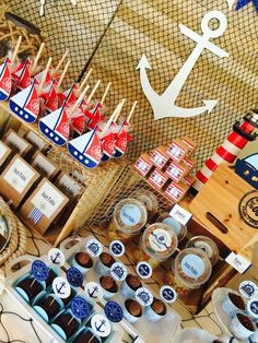 NAUTICAL Birthday Party Ideas | Photo 1 of 32