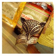 Vintage gold fox ring Vintage gold fox ring. Jewelry Rings