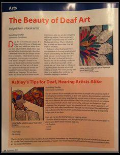 The Beauty of Deaf Art